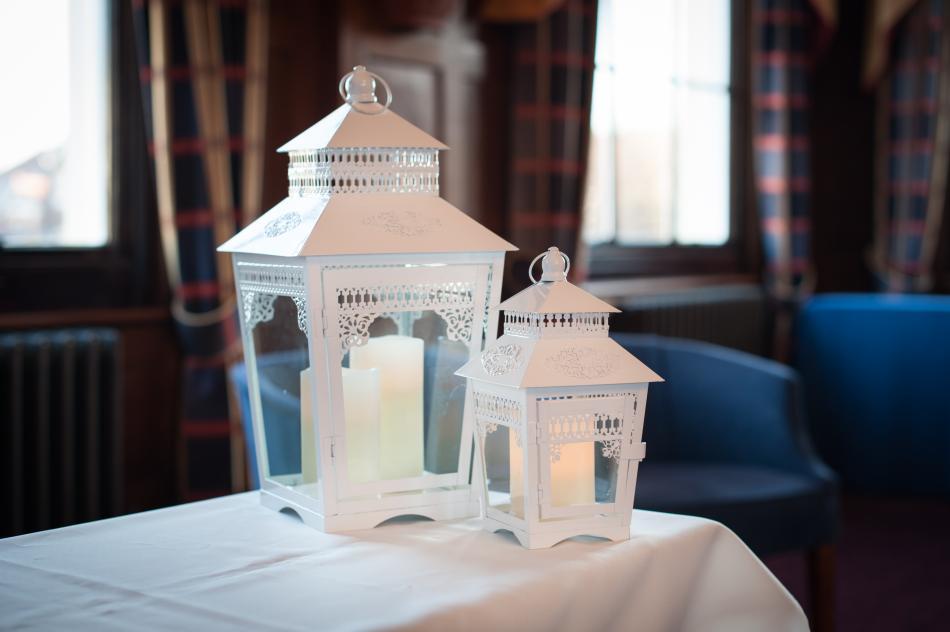 New Millennium Chamber Room's Wedding venue Lanterns