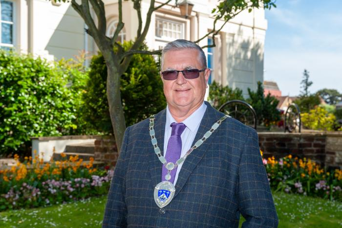 Town Mayor Councillor David Chace 2020