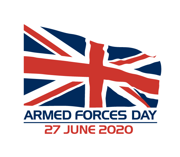 Armed Forces Day logo 2020 date