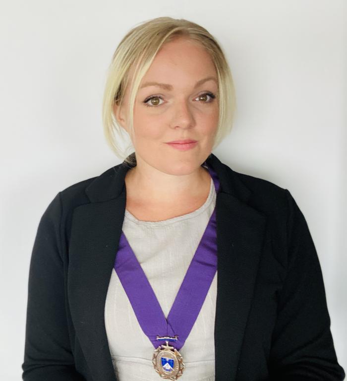 Deputy Town Mayor Councillor Michelle Molloy 2020