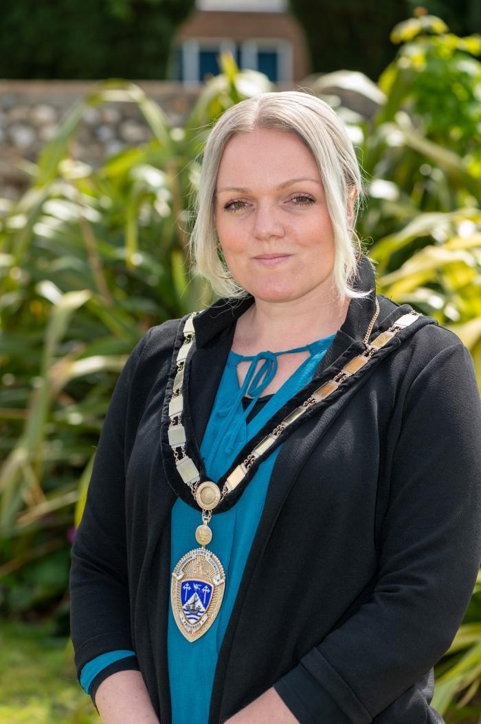 Town Mayor Councillor Michelle Molloy