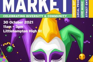 Hallows Eve Special Littlehampton Town Artisan Market