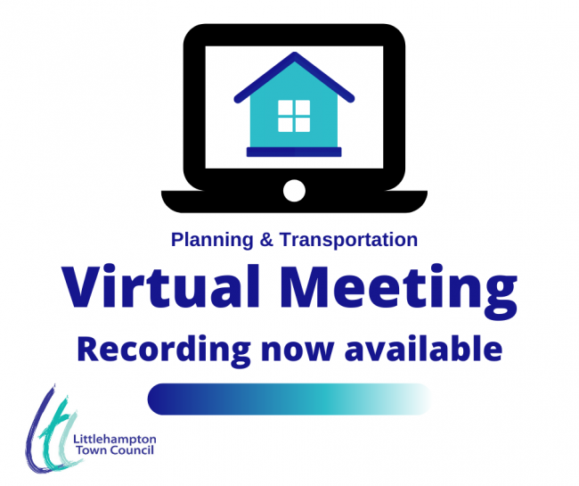 Virtual meeting Planning & Transportation recording available
