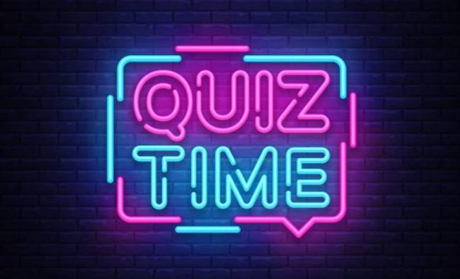 Quiz Time in Neon Lights image