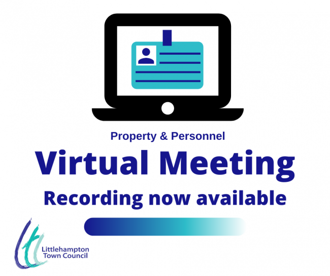Virtual meeting Property and Personnel Recording available