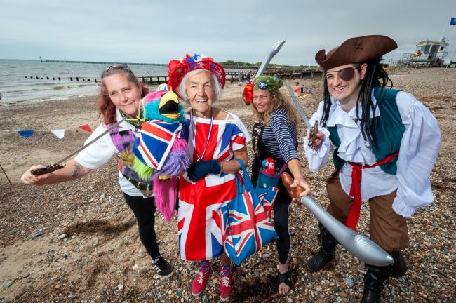 LOCA pirates on the beach 2021 sandcastle competition