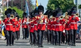 Grenadier Guards at Armed Forces Day 2018